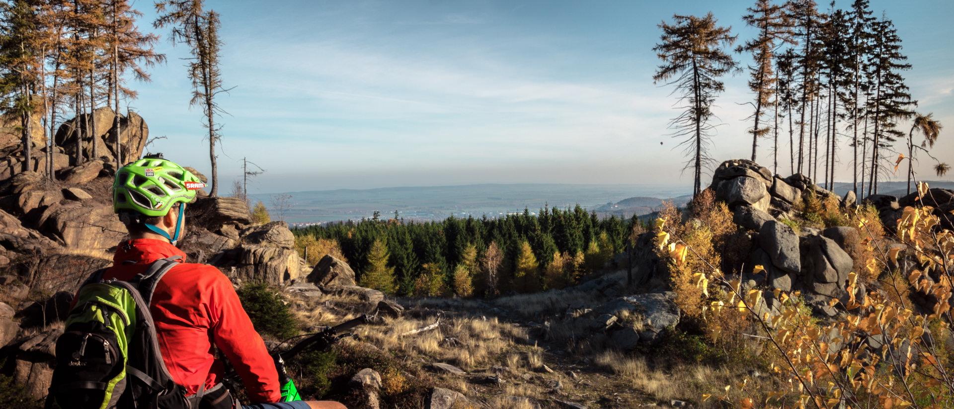 Single trails im harz